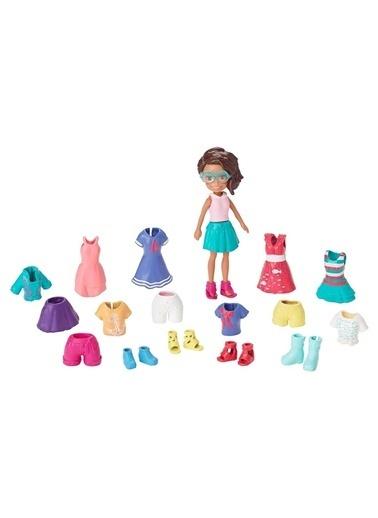 Polly Pocket ve Kıyafetleri Oyun Seti GFT97-GFT98 Renkli